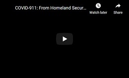 video:COVID-911: From Homeland Security to Biosecurity