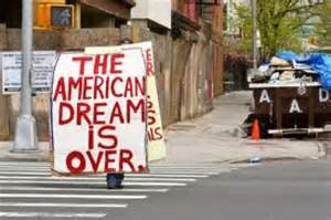 image: american dream is over