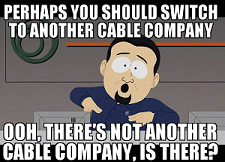 image cable company monopoly
