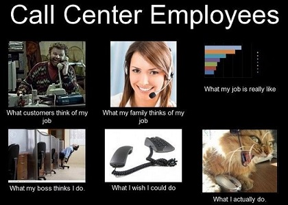 inage: call center blues