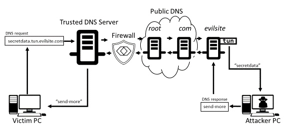 image: dns tunnel