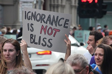 image: ignorance is not bliss