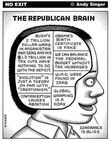 image: republican brain